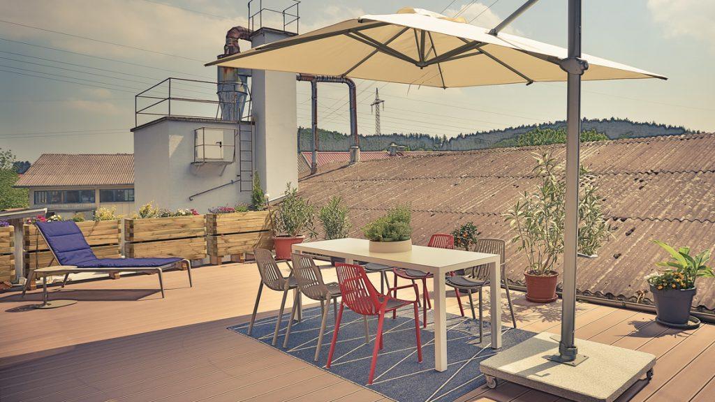 Moderne Gartenmöbel und die perfekte Ausstattung für Balkon und Terrasse